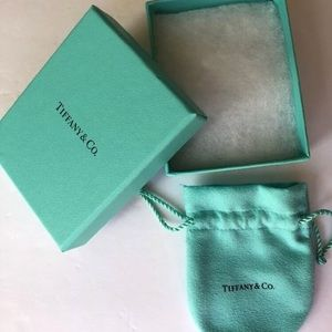 Tiffany & Co pouch and box. Like new.  Authentic
